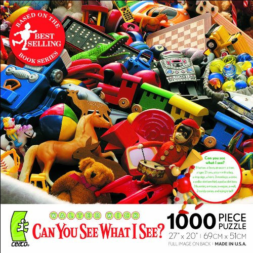 Ceaco Walter Wick Can You See What I See?-Toy Bag (Walter The Puppet)
