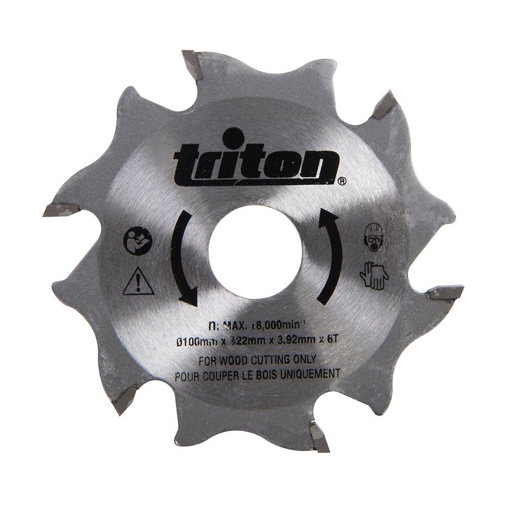 Triton Frä sblatt fü r Flachdü belfrä se, 100 mm, 1 Stü ck, orange, TDJ600 899068