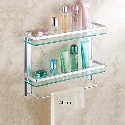 Amazon Com Pllp Household Bathroom Shelf Towel Rack Shower Shelf