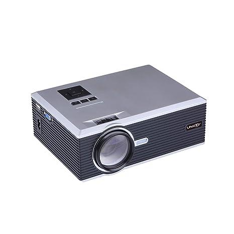 XSWE HD Multimedia portátil Mini proyector LED, Cine en casa HDMI ...