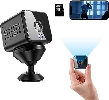 Vnieetsr HD 1080P Wireless Mini Hidden Spy Camera