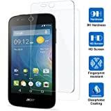 Acer Liquid Z330 専用強化ガラスフィルム AVIDET 9H硬度の液晶保護 0.3mm超薄型【国産ガラス素材】耐指紋 撥油性 高透過率 ラウンドエッジ加工