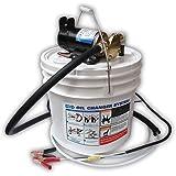 Jabsco 17800-2000 Marine Porta Quick Oil Changer, Flexible Impeller Pump, Reversing Switch 3.5 Gallon, 12-Volt, Non CE