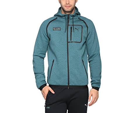 5a6948c9c 2017 Mercedes AMG Petronas Puma Hooded Sweat Jacket (Deep Teal ...