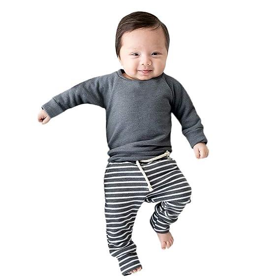 0-2 Años, SO-buts Niño Niños Bebé Niño Niña Otoño Pijama Camisa ...