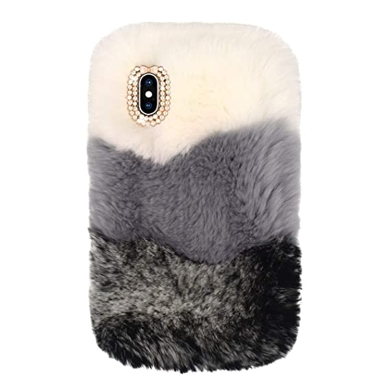 fluffy iphone xs case