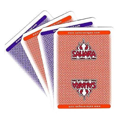 Amazon.com: Sahara Casino Las Vegas Used Playing Cards, 2 ...