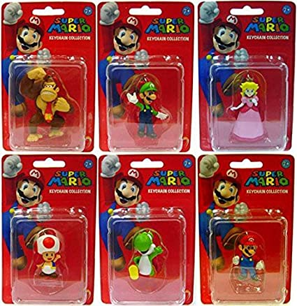 Mario et Luigi Mini Figures Collection Série 1