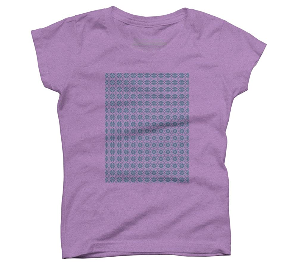 Design By Humans Nordic Stars Girls Youth Graphic T Shirt