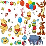 RoomMates RMK1498SCS Pooh and Friends Peel and Stick Wall Decal