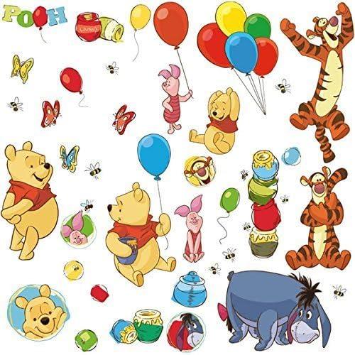 Disney Winnie The Pooh /& Friends Balloons Peel /& Stick Wallpaper Border Nursery