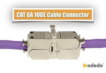 odedo® CAT 6A / 7 feldkonfektionierbarer: Amazon.de: Computer & Zubehör