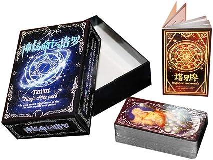 Queta Mysterious Fate Love Tarot - Juego de Mesa con diseño de Anime Destiny: Amazon.es: Informática