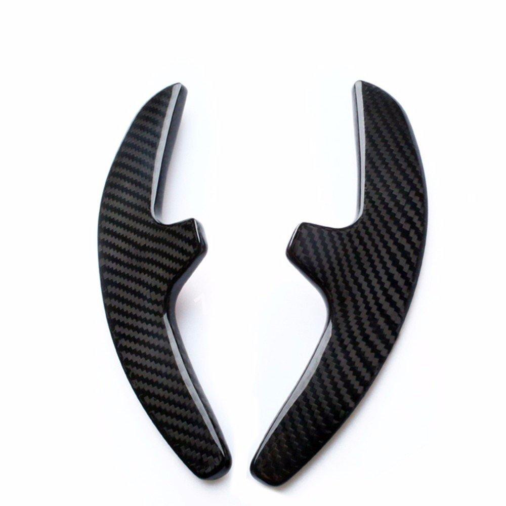Real de fibra de carbono volante Paddle Shifter extensiones para Porsche: Amazon.es: Coche y moto