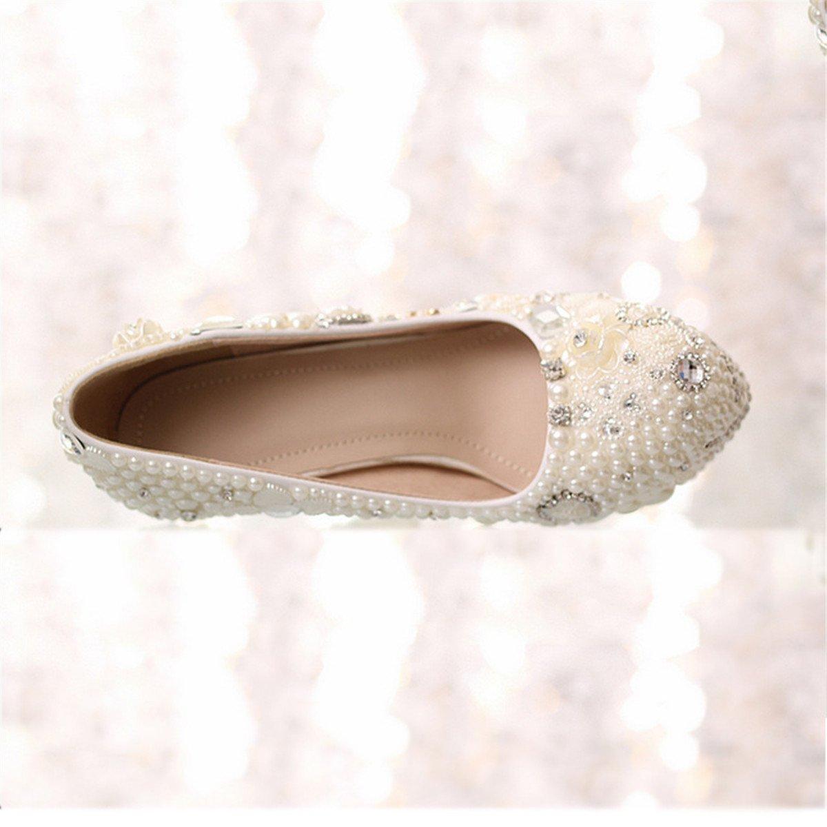 Woherren schuhe Comfort Sandals Walking schuhe schuhe schuhe   Damen Sandalen   Sandalette Crystal Schuhe wasserdicht Taiwan high-heeled Hochzeit Schuhe Weiß Pearl crystal großen Diamanten Hochzeit Schuhe   begleitet Dame Kleid Schuhe   Damenschuhe 1e1bfb