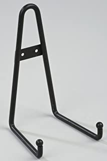 8\  Black Round Tip Display Rack Plate Book Art Wall Holder  sc 1 st  Amazon.com : metal plate holder stand - pezcame.com