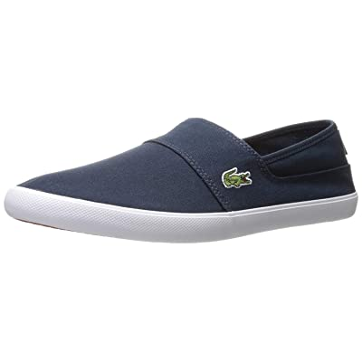 Lacoste Mens Marice Bl 2 Fashion Sneaker, Dark Blue/Dark Blue, 7 M US | Fashion Sneakers