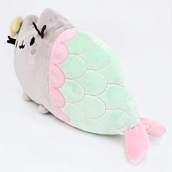 Gund 4056242 Peluche de Pusheen sirena: Toy: Amazon.es: Juguetes y juegos