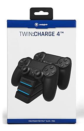 Amazon.com: Snakebyte PS4 Twin Charge 4 - Twin Docking ...
