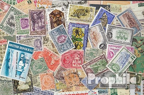British Honduras 25 Different Stamps British Honduras Colony (Stamps for Collectors)