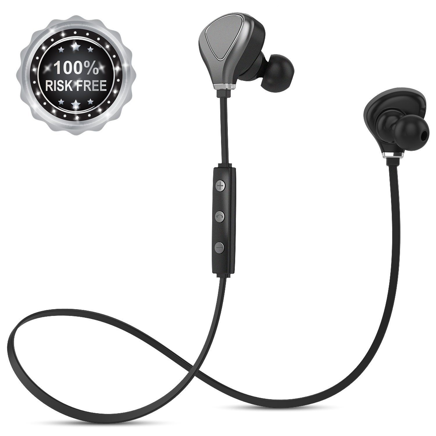 Amazon.com: InzhiRui Bluetooth Headphones Sports with Mic Wireless Earbuds for Running Gym Workout Cordless In-Ear Magnetic Sweatproof Earphones Headset for ...