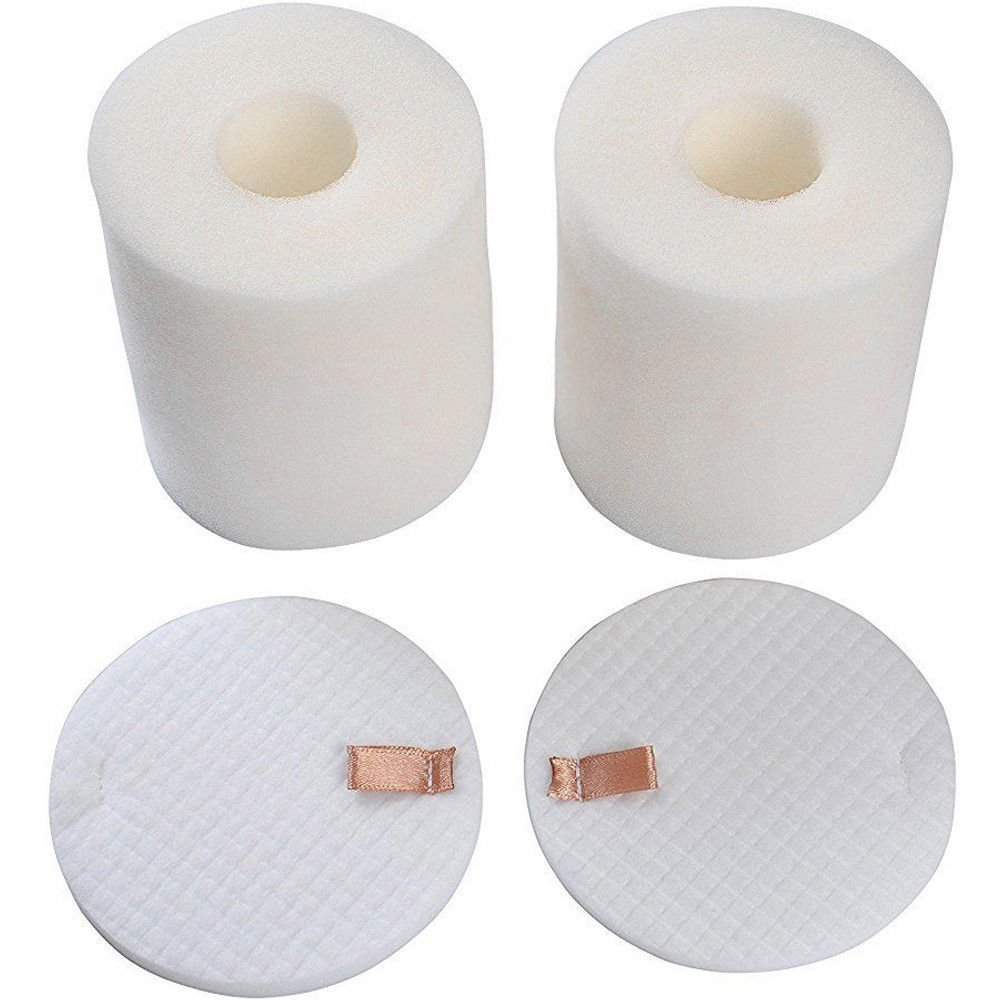 2 Pack Foam & Felt Filter Set Fits Shark Rotator Pro NV500, NV500CO, NV501, NV502, NV503, NV500W & NV550 Vacuums, Part # XFF500 XFF500