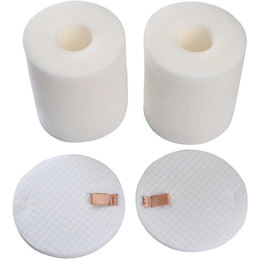 2 Pack Foam & Felt Filter Set Fits Shark Rotator Pro NV500, NV500CO, NV501, NV502, NV503, NV500W & NV550 Vacuums, Part # XFF500 XFF500 Ximoon