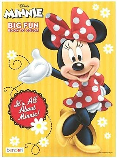 - Amazon.com: Minnie Mouse 96 Pg Coloring Book: Toys & Games