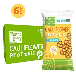 Real Food From The Ground Up Cauliflower Pretzel Twists – 6 Pack