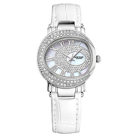 North King Relojes Fecha Pantalla Mujer Reloj Elegante Relojes de Cuarzo Relojes Bonitos para Regalo de