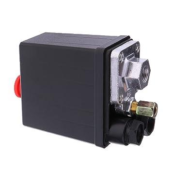 Interruptor Válvula de Compresor de Aire Presión 175PSI 240V: Amazon.es: Bricolaje y herramientas