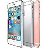 iPhone 6S Case, Maxboost® [Liquid Skin] iPhone 6 Case [0.4mm] Soft Flexible Extremely Thin Gel TPU Skin *Feels Like Nothing There* Scratch-Proof iPhone 6 (2014) / 6S 4.7 Inch (2015) Cover -Ultra Clear