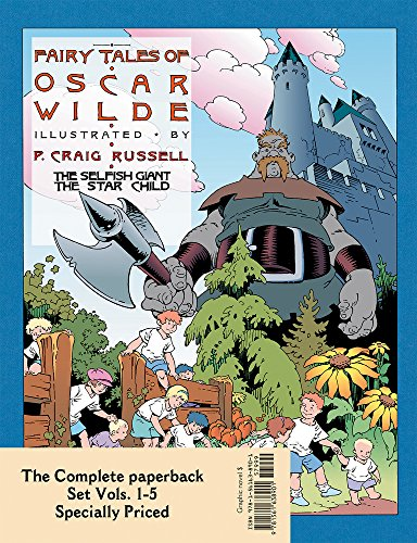 Fairy Tales of Oscar Wilde: The Complete Paperback Set 1–5