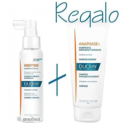 Ducray Neoptide Loción Anticaída Hombre Spray, 100ml+REGALO Ducray Champú Anaphase+ ,100ml