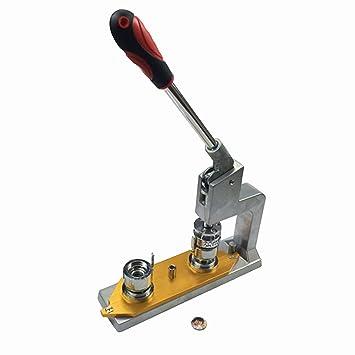 Dawei Badge prensa botón eléctrica botón Panificadora 1003 1 Inch(25mm)