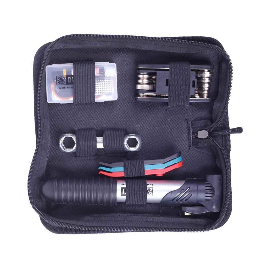 Morza 16 in 1 Fahrrad-Fahrrad-Reifen-Reparatur-Werkzeuge Kits Set Multifunktional mit Tragbare Mini-Pump