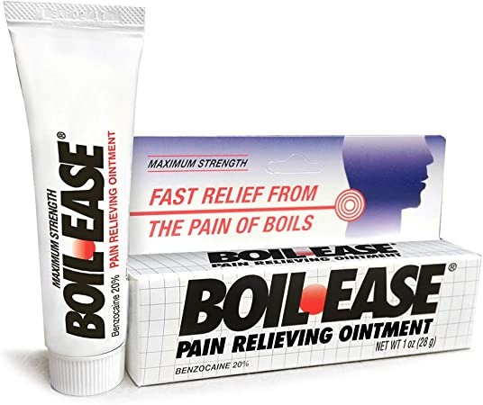 Amazon Com Boil Ease Pain Relieving Ointment 1 Ounce Health