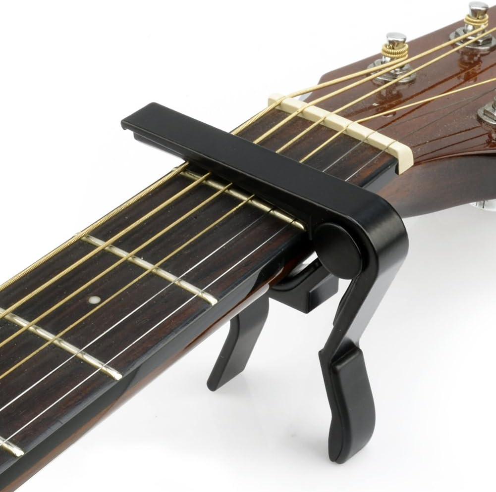 Monomando Guitarra Cejilla Capo capod Aster KAPO para casi todos los Guitarra Guitarra