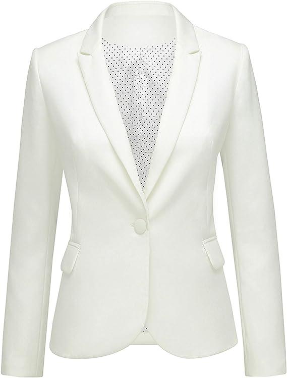 Structured Single Buttoned Blazer