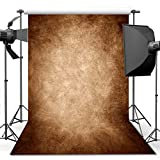 ANVOT Photography Backdrop, 5x7 ft Retro Solid Light Yellow Backdrop For Studio Props Photo Backdrop