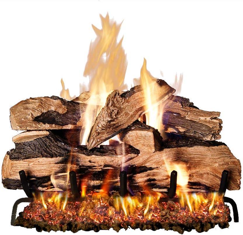 Peterson Real Fyre 24-inch Split Oak Designer Plus Gas Logs (Logs Only, No Burner)