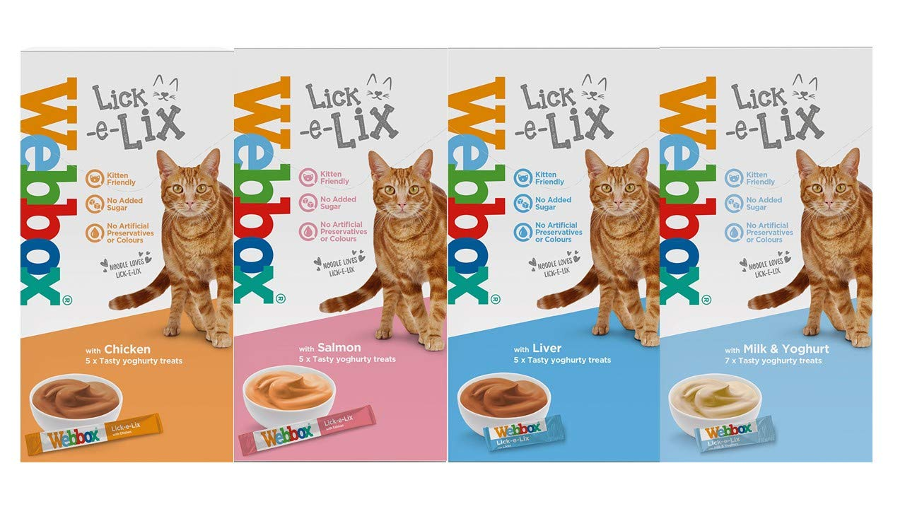 Webbox Lick-e-Lix Variety Pack Pack of 7