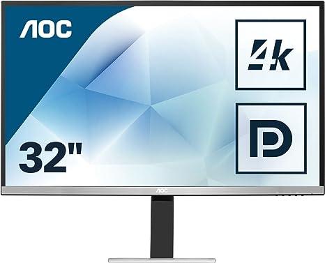 AOC Monitores U3277FWQ - Pantalla para PC de 31.5