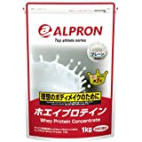 ホエイプロテイン プレーン風味 1kg アルプロン