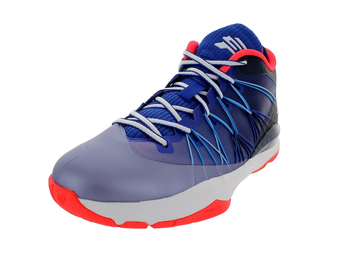 sports shoes 881bd 4b2fa Amazon.com  Jordan Nike Men s CP3.VII AE Gm Royal Wht Mdnght Nvy Obsidn  Basketball Shoe 12 Men US  Clothing