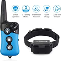 Dog Training Collar - Rechargeable Remote Dog Shock Collars for Small, Medium, Large Dogs…