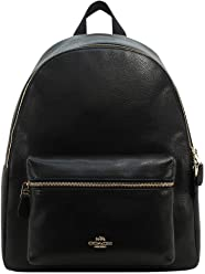 Coach Charlie Pebble Leather Backpack F38288 3d3ab59fccb26
