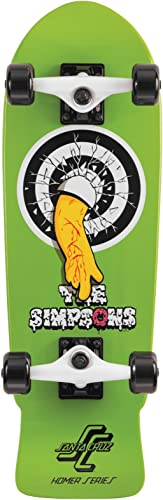 Santa Cruz Simpsons Homer One Micro Cruzer Skateboard 8.3 X 26-Inch