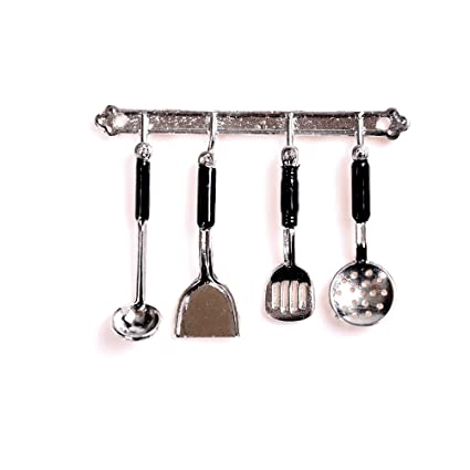 1:12 Dollhouse Miniature Furniture Kitchen Cooking Tools Kitchenware 5Pcs Set //