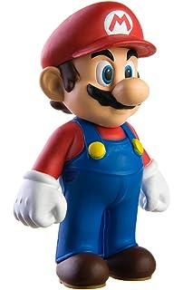 amazon com super mario brother pvc 5 figure luigi toys games